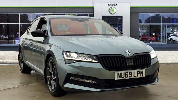 SKODA Superb 2.0 TDI CR 190 Sport Line Plus 5dr DSG Diesel Hatchback