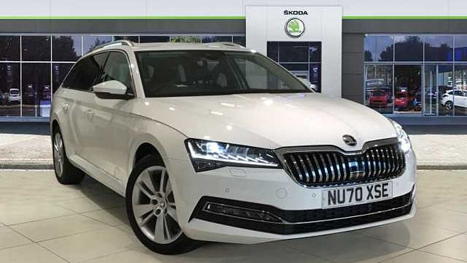 SKODA Superb 2.0 TDI CR 190 SE L 5dr DSG Diesel Estate